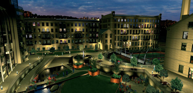 Artists impression of Victoria Mills